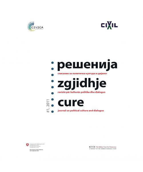 Cure-Journal on political culture and dialogue